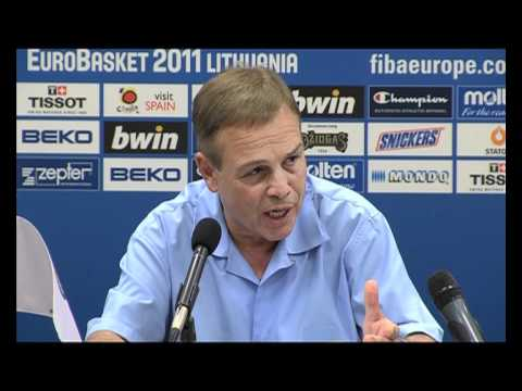 Eurobasket-11: Ukraine - Russia / Post-match Press-conference