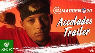 Madden NFL 20 – Official Accolades Trailer