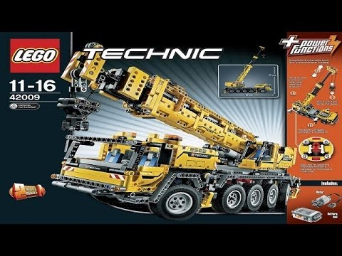 LEGO Technic | Instruction For 42009 | Mobile Crane MK II [NEW]