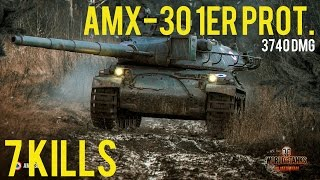 AMX-30 3740 DMG, 7 Kills | WoT - XBox One