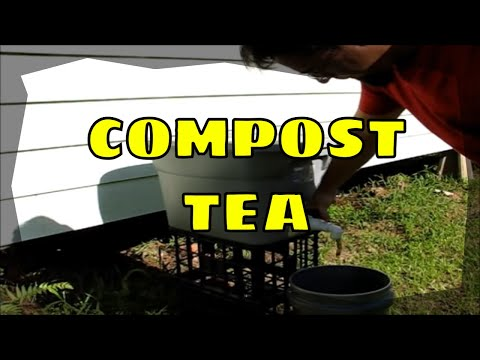 How to Make a Compost Tea Dispenser