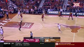 Iowa State vs Texas Men's Basketball Highlights