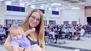 Bringing My Baby To School | Teen Mom Vlogs