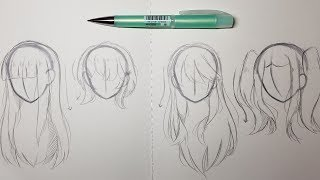 4 Ways to Draw Hair