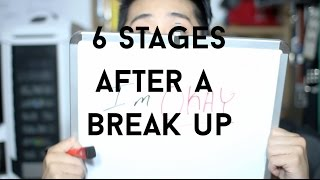 Stages of a Break up | How To Get Over a Breakup