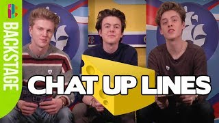 Download Lagu New Hope Club react to cheesy chat up lines! Try not to laugh! Gratis STAFABAND