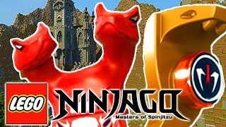 LEGO NINJAGO WARRIORS -THE VAMPIRE SNAKES ATTACK! w/ Little Lizard