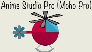 Анимация вращения винта вертолета в Anime Studio Pro (Moho Pro)