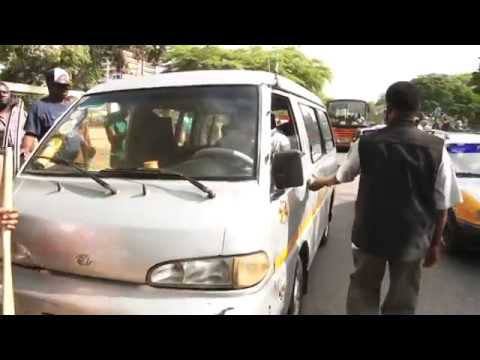 Alfred Vanderpuije arrests driver on sanitation day