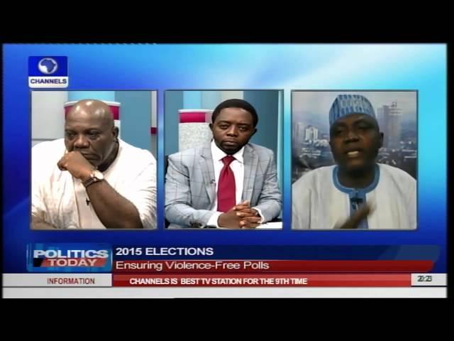 Politics Today: Okupe, Shehu Speak On Ensuring Violence-Free Polls PT3