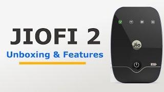 Reliance JioFi 2 4G MiFi Device Unboxing & Features | Hindi | Techchip