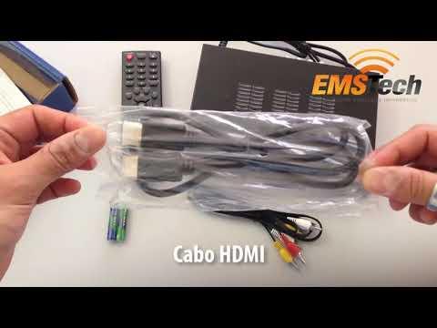 Unboxing: Conversor Digital Aquario DTV-8000 com Função Gravador e Mídia Player