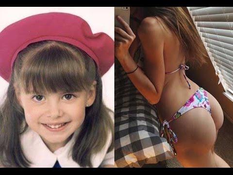 10 Niñas Famosas que se Volvieron Sexys Cuando Crecieron