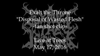Disposal Of Wasted Flesh