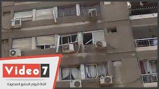 بالفيديو.. الدمار يجتاح شارع عمار بن ياسر بمصر الجديدة عقب اغتيال النائب العام