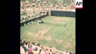 SYND 3-9-69 FOREST HILLS TENNIS NEWCOMBE V RIESEN