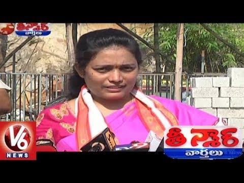 Vijayawada Durga Temple EO Koteswaramma Suggestions To Devotees Over Pasting   Teenmaar News   V6