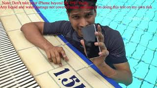 iPhone X water test! pass or fail | Display issue | tested in shower and pool