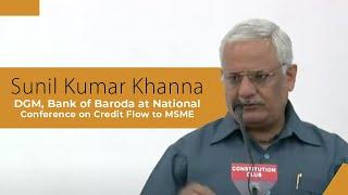 Sunil Kumar Khanna  DGM  Bank of Baroda