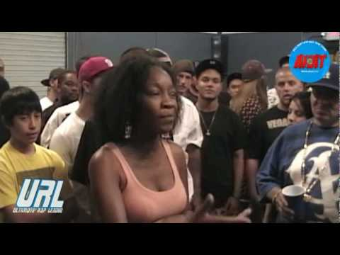 15 year old rapper Miles Low vs female battle rapper Jessyka Jaymes
