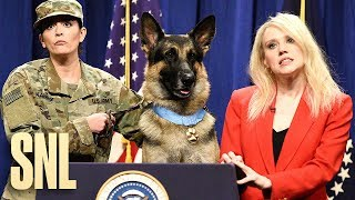 Hero Dog Press Conference - SNL