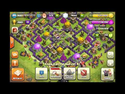 Best Clash of Clans Defense - Town Hall 9 Farming Base