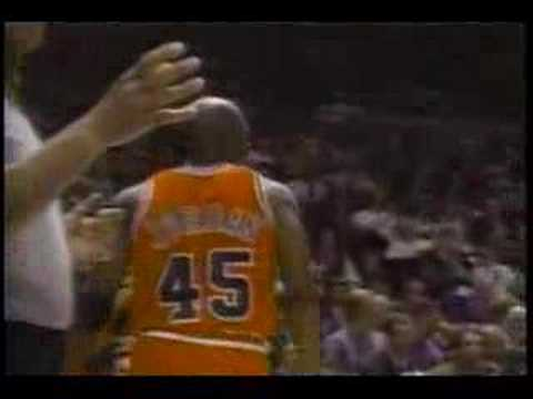 Michael Jordan 55 points vs NY Knicks Video