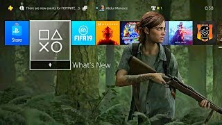 The Last of Us Part 2 FREE PS4 Ellie Dynamic Theme - RIGHT NOW!