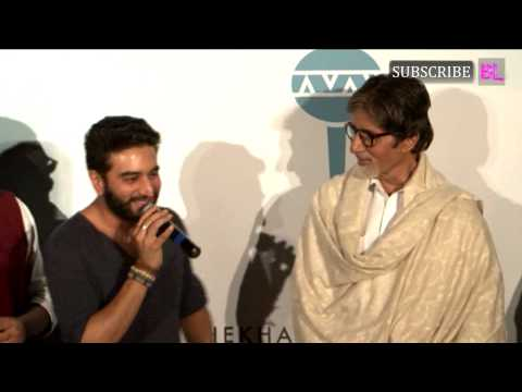 Amitabh Bachchan launches Shekhar Ravjiani's new single Hanuman...