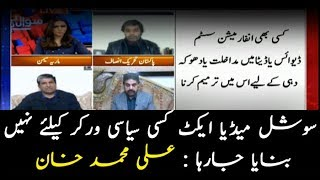 Social media act not being made for political workers: Ali Mohammad Khan