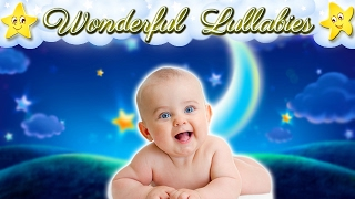 2 Hours Wonderful Relaxing Baby Music ♥♥♥ Super Soothing Bedtime Lullaby Collection ♫♫♫ Sweet Dreams