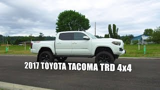 LIFTED 2017 Toyota Tacoma TRD 4x4