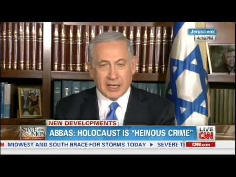 Netanyahu: Abbas Speaking out Both Sides of His Mouth on Holocaust