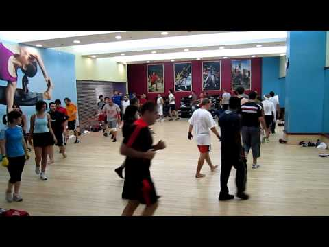 Fitness First Dubai Festival City - Kickboxing Class 25Jan2012 .MOV