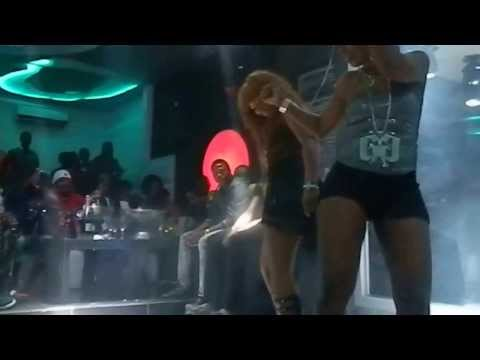Rammy's performance at New Ice Night Club in Abidjan on Sunday September 8th 2013