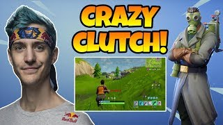 *CRAZY* NINJA GETS AMAZING CLUTCH AND WIPES A WHOLE TEAM! - FORTNITE FUNNY/EPIC/ FAIL MOMENTS