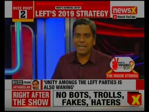 LEFT's 2019 Strategy; Andhra Pradesh's Raid Politics & more | Who's Winning 2019?