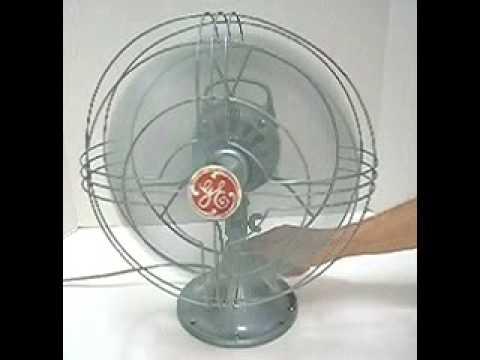 Vintage general electric oscillating fan vortalex 12 3 for General electric fan motor