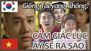[CẢM GIÁC LÚC ẤY SẼ RA SAO - LOU HOÀNG] Người Hàn xem VPOP-Phản ứng - vpop reaction
