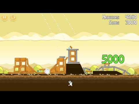 Mighty Hoax - Level 5-2 - Three Stars [ Angry Birds ]