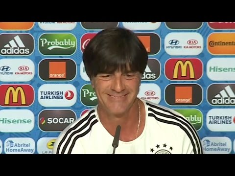 "German Coach Joachim Loew Apolgises For His Controversial ""Habits"" During Euro 2016 Opener"