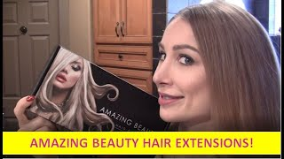 Amazing Beauty Hair Extensions Ombre Human Hair Clip-ins from amazingbeautyhair.com