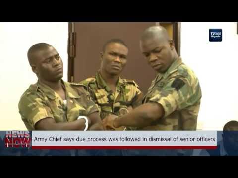 Nigeria's Army Chief blames Boko Haram for report on Dubai properties