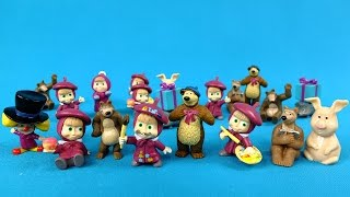 Masha And The Bear (Full HD) 20 Surprise Eggs - New Toys Collection