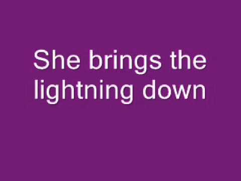 Shannon Brown - She Brings the Lightning Down