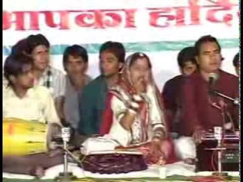 Khimaj Mata & Nimgoriya Bheruji Bhajan Sandhiya Bhinmal - Sarita Kharwal- Live video
