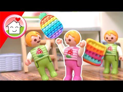 Playmobil Familie Hauser - Mia und die Popits - Geschichte mit Anna und Lena