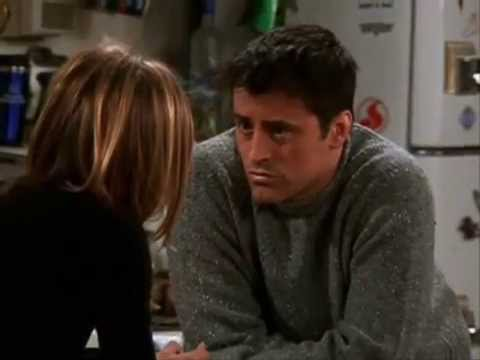Goodbye, my lover: Ross, Rachel, Joey (Friends)