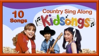 Country Sing Along | Country Songs for Kids | Childrens Farm Songs| Buffalo Gals| Kidsongs |PBS Kids