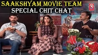 Saakshyam Movie Team In Special Chit Chat | Bellamkonda Srinivas | Pooja Hegde | Sriwass